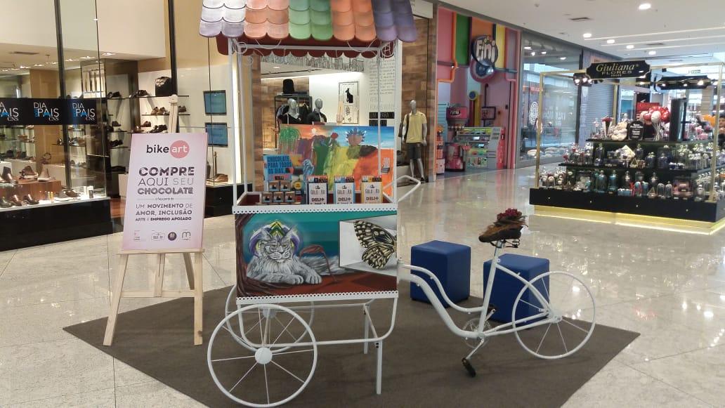 Bike Art chega a quatro shoppings de São Paulo