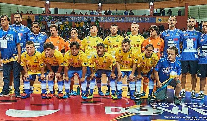 Seleção Brasileira lança 'vaquinha' para ir ao Mundial de Futsal Down