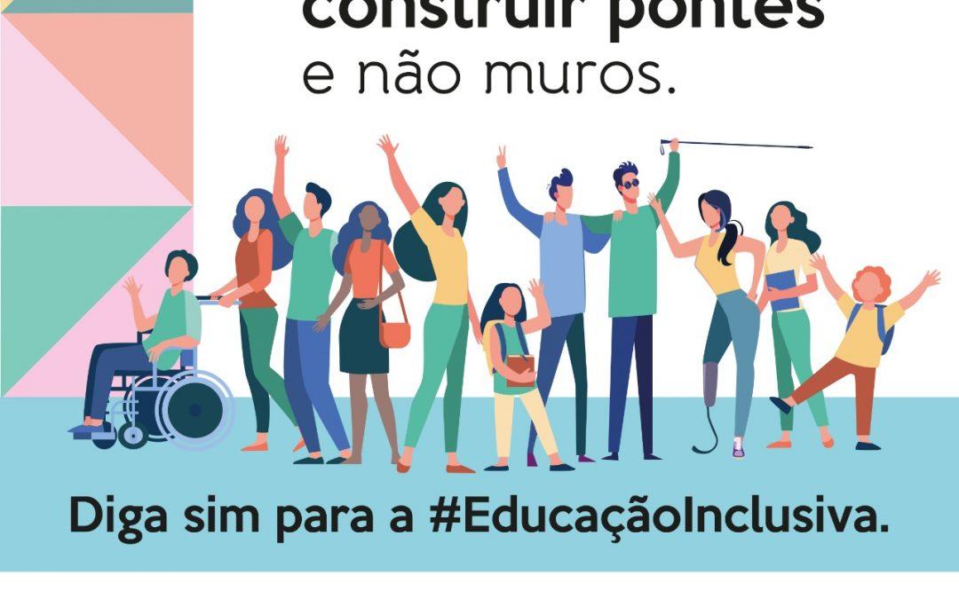 Diga sim para a educação Inclusiva!