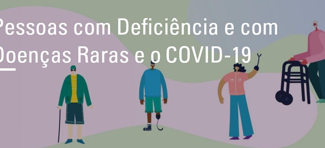 Secretária nacional dos Direitos da Pessoa com Deficiência lança material com orientações sobre o novo coronavírus (Covid-19)