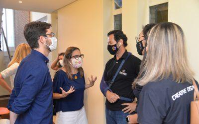 Palestra sobre protocolos de atendimento durante a pandemia