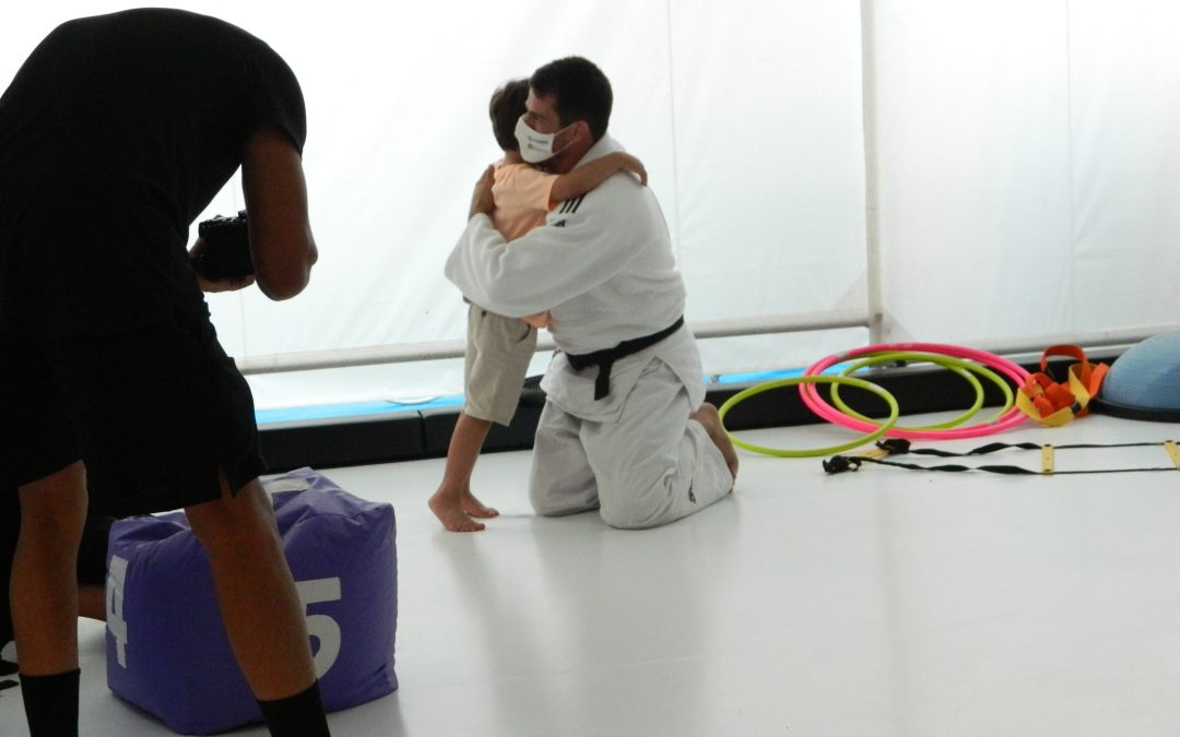 Tatame inclusivo recebe as primeiras aulas em dia de mobilização