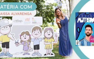 Veja a reportagem da Thaissa Alvarenga na revista Autismo